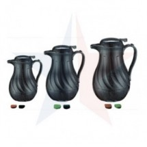 Update International FB3022/40  Black Swirl Coffee Server 42 Oz