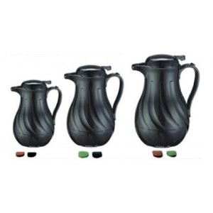 Update International FB3022/60  Black Swirl Coffee Server 64 Oz.
