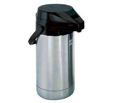 Update International FLSV-25/BK/BT Stainless 2-1/2 Liter Airpot