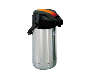 Update International FLSV-25/OR / BT Stainless 2-1/2 Liter Decaf Airpot