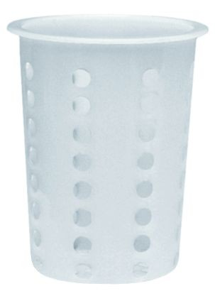 Update International FLT-CYP PE Plastic Flatware Cylinder