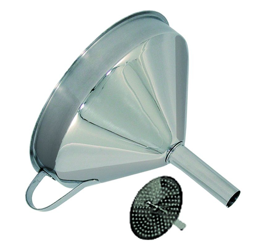 """Update International FSV-6S Stainless Steel Funnel and Strainer with 5-3/4"""""""
