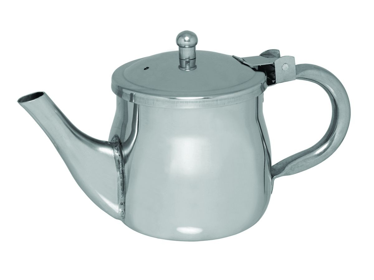 Update International GNS-10 Gooseneck 10 Oz. Teapot