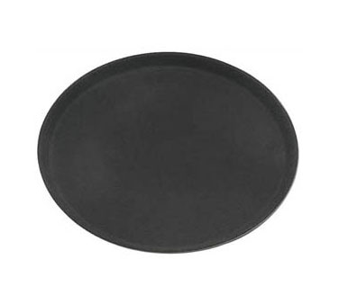Update International GTFG-2700BK Black Fiber Glass Oval Grip Tray