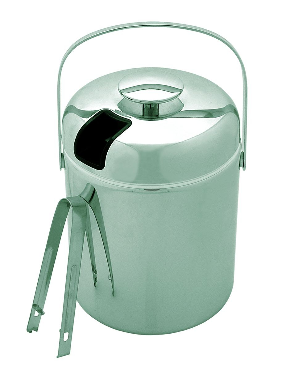 Update International IB-130C 44 Oz. Ice Bucket with Tong