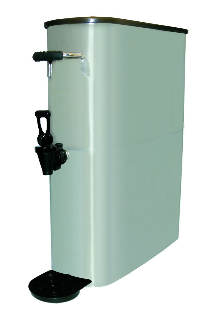 Update International ITDS-5G Space Saver 5 Gallon Ice Tea Dispenser