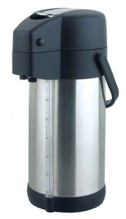 Update International LSG-30/BK Stainless Steel 3 Liter Airpot