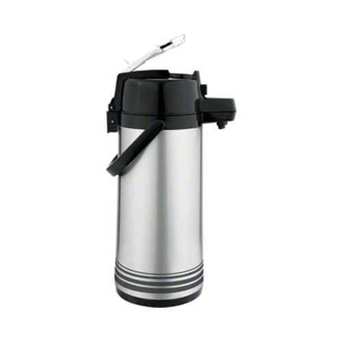Update International LSVL-30/OR/SF Stainless Steel 3 Liter Lever Top Airpot