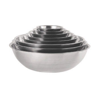 Update International MB-400 Stainless Steel Mixing Bowl 4 Qt.