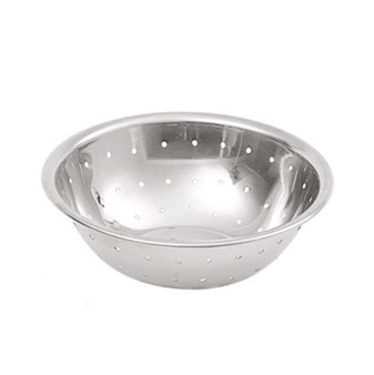 Update International MBH-75 Perforated Stainless Steel Mixing Bowl 3/4 Qt.