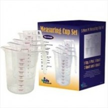 Update International MEA-PC / SET 5-Piece Measuring Cup Set