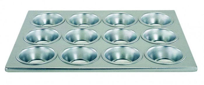 Update International MPA-12 12 Cup Muffin Pan
