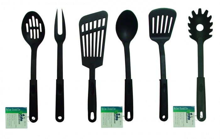 Update International NKU-03 Black Nylon Pot Fork 12-1/2""
