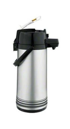 Update International NLD-22/OR/SF Stainless Steel 2.2 Liter Decaf Lever Airpot