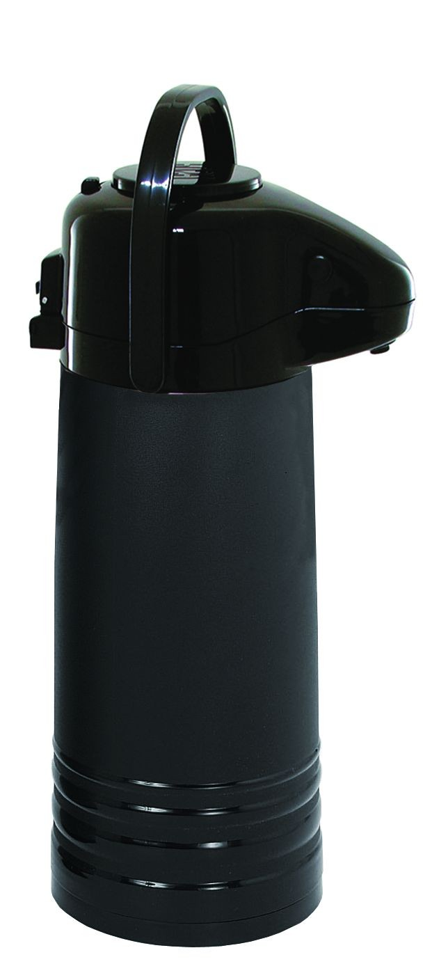 Update International NVAPB-22BK Black 2.2 Liter Push Button Airpot