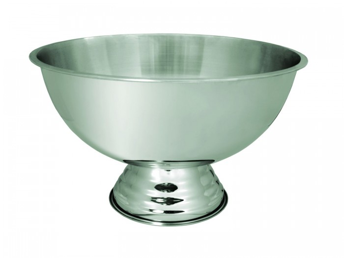 Update International PB-3G Stainless Steel 3 Gallon Punch Bowl
