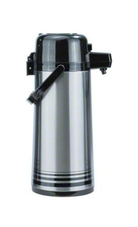 Update International PSVL-25/OR/SF Stainless Steel 2.5 Liter Decaf Push Top Airpot