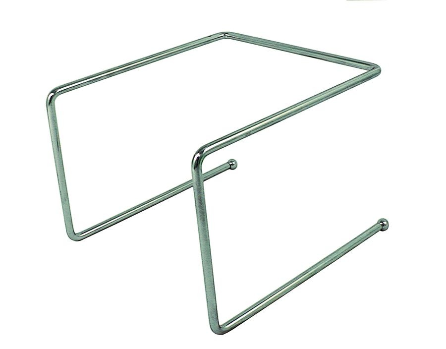 Update International PTS-9 Chrome Plated Pizza Tray Stand
