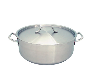 Update International SBR-25 Stainless Steel Brazier 25 Qt.