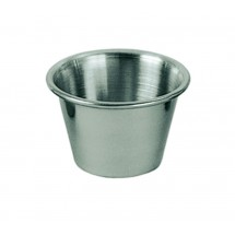 Update International SC-25 Stainless Steel 2.5 Oz. Sauce Cup - 1 doz