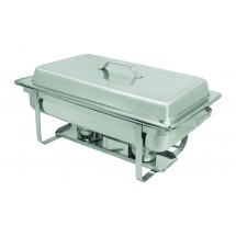 Update International SCC-19 Full Size Stainless Steel Rectangular Stackable Chafer