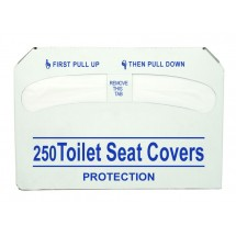 Update International SCD-PPR Half Fold Paper Toilet Seat Covers  - 250 pcs