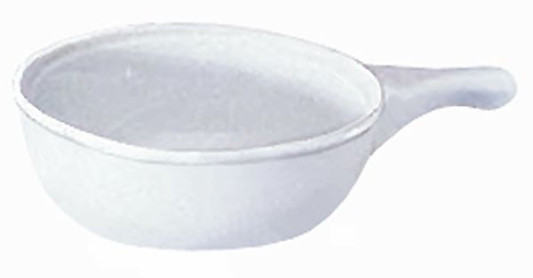 Update International SCW-10H 10 Oz. Soup Crock with Handle - 3 doz
