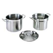 Update International SDB-12 Stainless Steel 12 Qt. Double Boiler