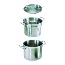 Update International SDB-20 Stainless Steel 20 Qt. Double Boiler