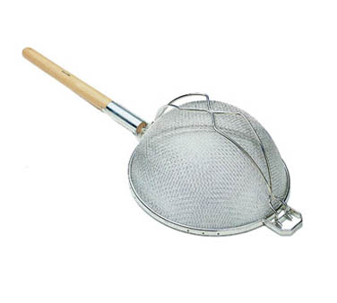 Update International SHD-10/SS Stainless Steel Reinforced Double Mesh Strainer 10-1/4""