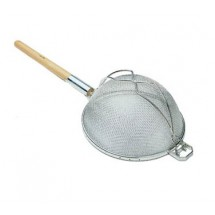 Update International SHD-9/SS Stainless Steel Reinforced Double Mesh Strainer 9-7/16""