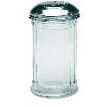 Update International SK-FPF 12 Oz. Perforated Sugar Jar - 1 doz