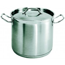 Update International SPS-8 8 Qt. Stainless Steel Stock Pot