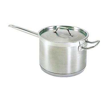 Update International SSP-10 Stainless Steel Sauce Pan 10 Qt.