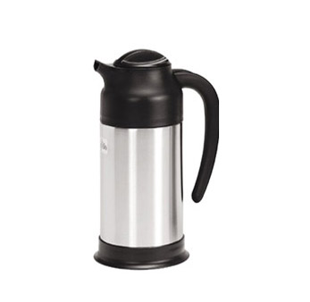 Update International SV-70 Black and Stainless Steel Carafe 0.75 Liter