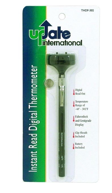 Update International THDP-302 Digital Pocket Thermometer