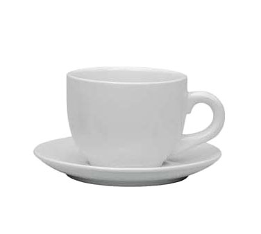 Update International TW-30SR White Ceramic Saucer for TW-30 - 3 doz