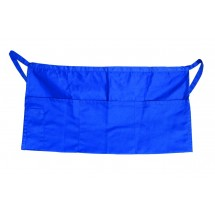 Update International WAP-BL Blue Cotton Twill Waist Apron