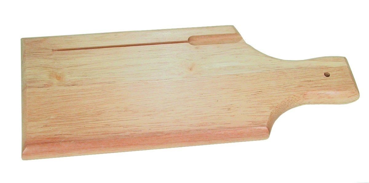 "Update International WBB-1205S 3/4"" Wooden Bread Board"