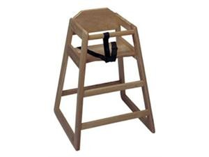 Update International WD-HCWA Assembled Walnut Baby High Chair