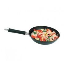 "Update International WOK-11 11"" Carbon Steel Wok"