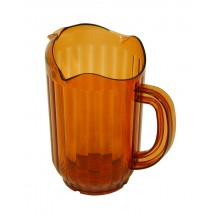 Update International WP-60PB Brown 60 Oz. Water Pitcher