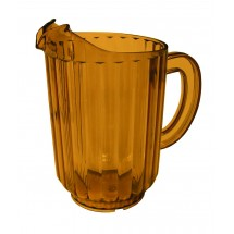 Update International WP-60SB Amber Water Pitcher 60 Oz.