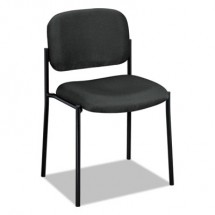 HON VL606 Scatter Black Fabric Stacking Guest Chair