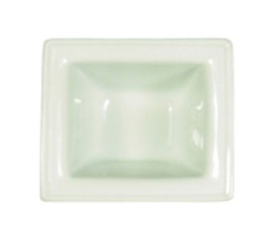 Vertex China ARG-PTR Signature White Mini Pot with Rim 2-1/2""