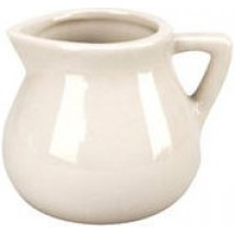 Vertex China CRE-4-W 4-1/2 Oz. Creamer - 3 doz