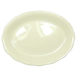 "Vertex China CSC-14 12-5/8"" Scalloped Platter - 1 doz"