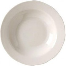 Vertex China CSC-3 Scalloped Rim Soup Bowl - 2 doz