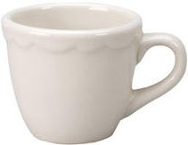 Vertex China CSC-35 Scalloped After Dinner Cup - 3 doz