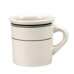 Vertex China DMG-38 Del Mar Green 8 Oz. Arcadian Mug - 3 doz